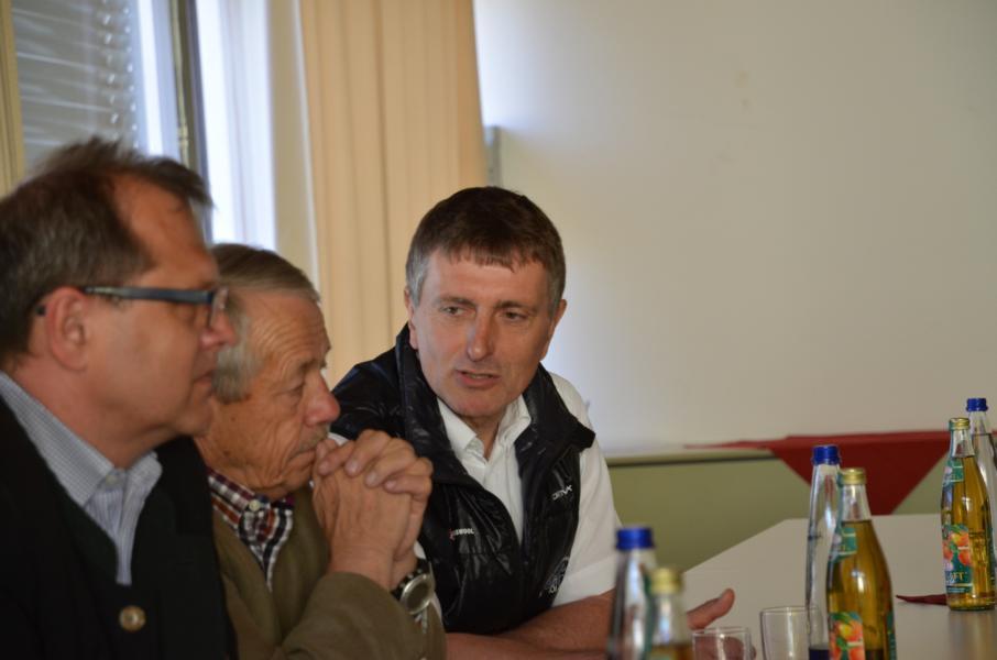 Peter Wisent Leitung Alpinsymposium 2015, Mitglied des Vorstands des Kuratoriums