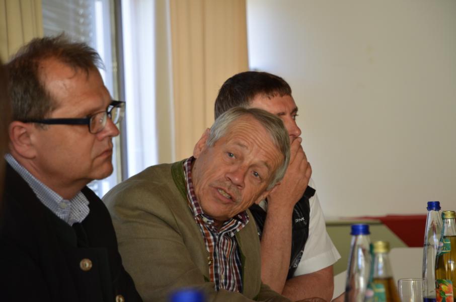 Prof. Karl Gabel 1. Vorsitzender des Österreichischen Kuratoriums für Alpine Sicherheit